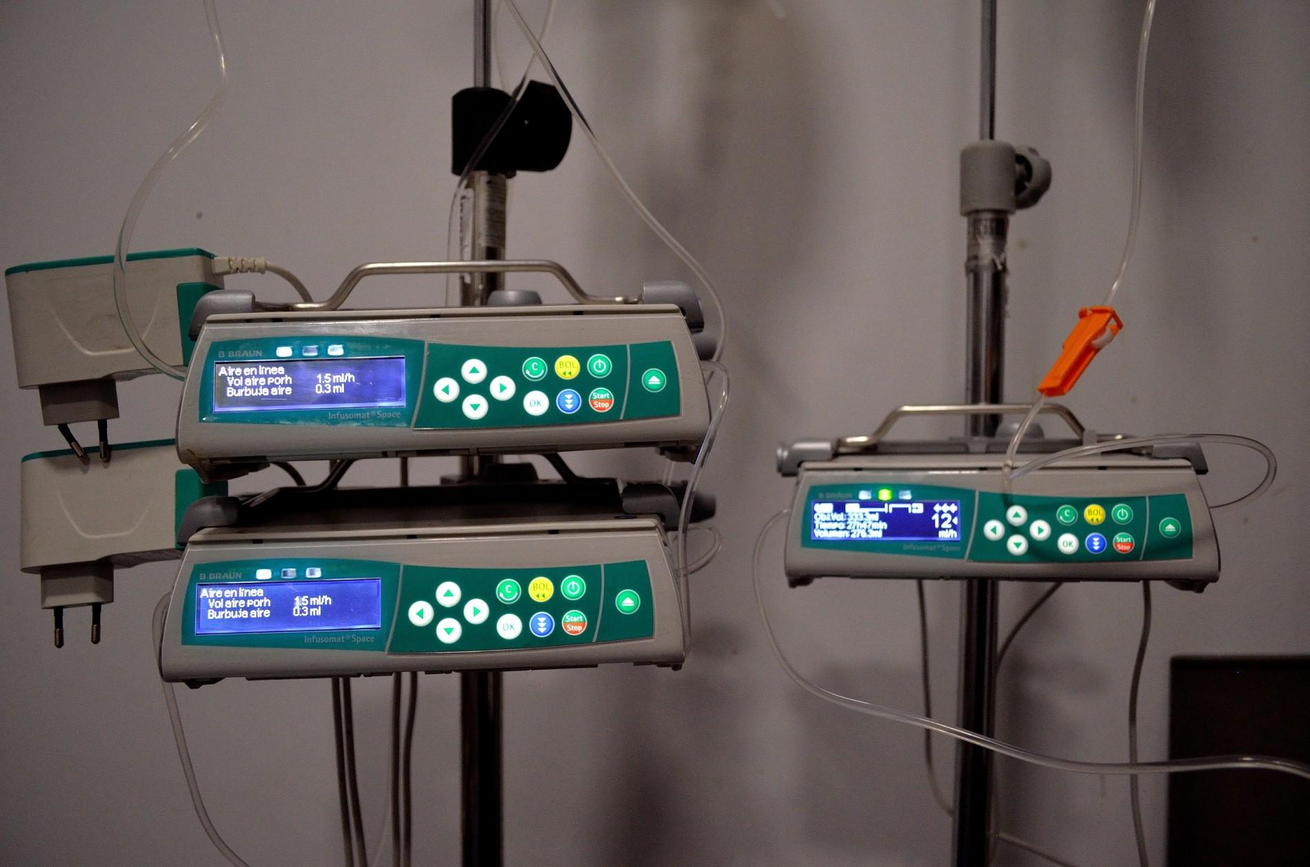 Bombas de infusión de alta precisión